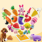 Lovely Pet Dog Puppy Cat Chew Toy Squeaky Sound Training Toy Rubber Non-toxic