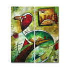 Metal Wall Art Contemporary Abstract Road Home