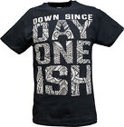 The Usos Down Since Day One Ish WWE Authentic Mens Black T-shirt