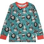 BNWT Boys Girls Maxomorra Party Long Sleeved T-Shirt NEW Organic Animal Top