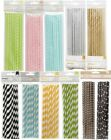 American Crafts Paper Straws 24 count