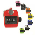 Digital Color Hand Held Tally Clicker Counter 4-Digit Number Clicker Golf Chrome