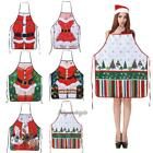 Kitchen Cooking Apron Party Xmas Fun Gift Ladies Men Aprons Christmas Decoration