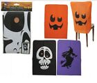 SPOOKY SCARY HALLOWEEN CHAIR BACK COVERS PRINTED NON WOVEN ROOM DECORATION PARTY