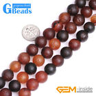 Natural Dream Agate Frost Matte Round Beads For Jewelry Making Free Shipping 15""