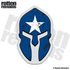 Bonnie Blue Flag Spartan Helmet Decal Southern Dixie Gloss Sticker HGV