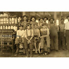 Boys Working in a Cotton Mill at West, Texas in 1913 by Lewis Hine Photo Print 2