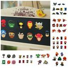 Внешний вид - 5-12pcs/set Avengers Super Hero Fridge Blackboard Magnets Refrigerator Stickers