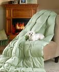 """Stone Oversized Down Free Throw Blanket Couch Sofa Bed Home Decor 55"""" X 70"""" New"""
