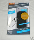 ThinOptics Reading Glasses Thin Attach to Phone Stick Anywhere Universal Case