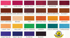 Slc Fiebing's Alcohol Based Leather Dye 28 Colors, 4 Oz. Bottles