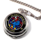Clark (Lion) Scottish Clan Pocket Watch