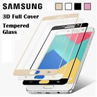 3D FULL COVER Tempered Glass Screen Protector for Samsung Galaxy J7 J5 J3