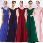Ever-Pretty Formal New Cap Sleeve Wedding Dresses Evening Party Long Prom 08633