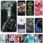 samsung h5 - Womens Cute Soft TPU Rubber Gel Silicoen Pattern Back Case Cover For Samsung