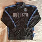 NBA Denver Nuggets Men's Lightweight Jacket Big and Tall XLT or 5X Full Zipper on eBay