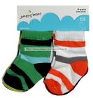 JUMPING BEANS 4 Pairs FOR BOYS Infant/Toddler ASSTD CREW SOCKS New! *YOU CHOOSE*