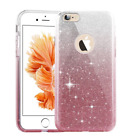 For iPhone X  8 7Plus Pink Bling Glitter Girly Cute Slim Protective Case Cover