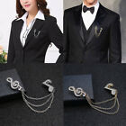 Fashion Men Women Music Note Badge Brooch Lapel Pin Suit Shirt Coat Tie Jewelry