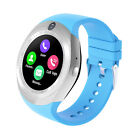 Bluetooth Wristwatch Touch Screen Smart Watch Camera SIM Card Slot for Android