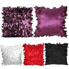 Fallen Leaves Feather Couch Cushion Cover Home Decor Sofa Throw Pillow Case USA