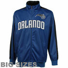 Orlando Magic Majestic Big Mens Tricot Track Jkt Jackets - Blue