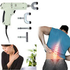 Electric Chiropractic Adjusting Tool Therapy Spine Activator Massager White