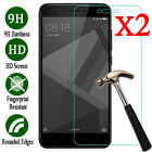 2X Tempered Glass Screen Protector Film For XiaoMi Redmi Note 3 4 5A 4X/4A A1/5X