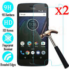 For Motorola Moto G4 G5 G5S Plus 2-Pack 9H Tempered Glass Screen Protector Cover