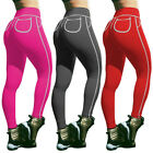 Womens Butt Lift Yoga Pants Sports Fitness Workout Leggings Gym Stretch Trousers