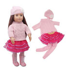 Doll Clothes Pajames Dress Panty for 18