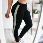 Women Yoga Pants Ladies Fitness Leggings Running Gym Exercise Sports Trousers US