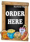 (Choose Your Size) Order Here VINYL DECAL Snacks Food Truck Concession Sticker