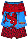 Boys New Spiderman Superhero Boxers Pants Briefs Kids Underwear 3 PACK Ages 2-12