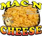 Mac N Cheese DECAL (Choose Your Size) Food Truck Concession Vinyl Sticker