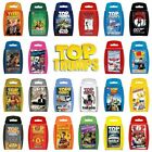 Brand New Top Trumps Card Game - Huge Selection, choose your favourite packs