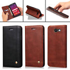 For Samsung Galaxy J3 2017/Emerge/Prime Flip Leather Wallet Stand Cover Case