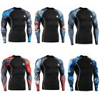FIXGEAR CPD Compression shirt base layer skin tight under training  fitness 4