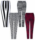 Ladies New Stretchy Leggings Viscose Full Length Pants Womens Bottoms UK S, M, L