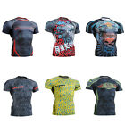 FIXGEAR CFS Compression shirt base layer skin tight under training  fitness 4