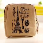 Retro New Women Mini Zipper Wallet Card Case Purse Bags Canvas Coin Bag