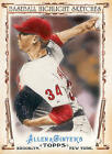 2011 Topps Allen and Ginter Baseball Highlight Sketches - Choose Your Card