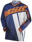 NEW MSR M16 AXXIS ORANGE NAVY WHITE JERSEY MX MOTOCROSS ADULT MENS SMALL