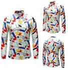 Men's Hawaii Holiday Summer Beach Shirt Top Suit Sets Pants  Chemise Рубашка