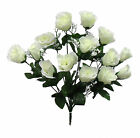 84 Roses Buds ~ MANY COLORS ~ Bride Bouquets Wedding Centerpieces Silk Flowers