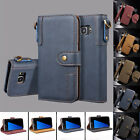 Wallet Case & PU Leather Magnetic Flip Folio KickStand Cover for Samsung S7 Edge