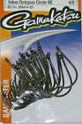 GAMAKATSU SALTWATER #265 INLINE OCTOPUS CIRCLE SE HOOK VALUE PACK NEW! 8/0 - 4
