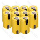 US Wholesale Yellow 1300mAh 1.2V SubC SC Ni-Cd NiCd Rechargeable Batteries