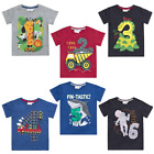 Boys Birthday Number T Shirt Ages 1,2,3,4,5,6 NEW with TAGS