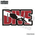 Dive Scuba Diver Decal Flag Water Search Rescue Diving Gloss Sticker HVG